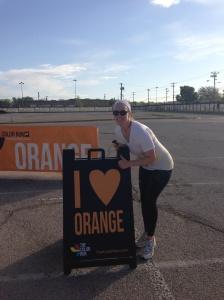 i heart orange color run