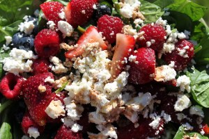 Berry Spinach Salad 2