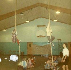Tullar School gym class 1968.