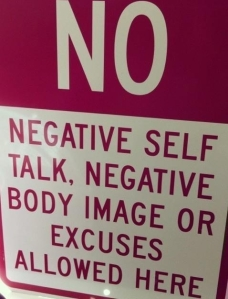 no negative self talk